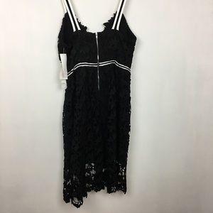 b7bf70b1362f7 Design Lab Lord & Taylor Dresses - Lord & Taylor Design Lab Black textured  lace dress